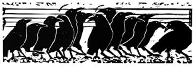 Promenade of Crows