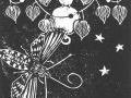 Jimson Weed, Datura stramonium & Chinese Lantern, Physalis alkekengi